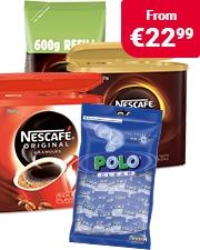 Free Polo mints Nescafé Coffee