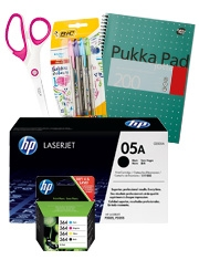 Up to €10 off Office supplies with HP Ink & Toner