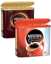 From €19.99 Nescafé coffee