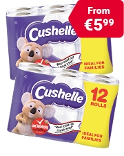 As Low As €5.99 Cushelle Comfort Toilet Roll
