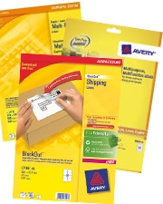 Only £9.99 Avery Labels