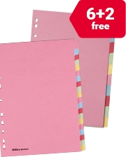 From £0.99 Office Depot Manilla Dividers A4