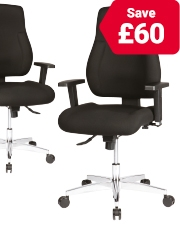 As low as £159 Realspace Signum Operator Chairs