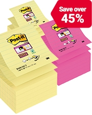 From £7.79 Post-it Notes Super Sticky