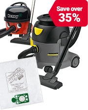 From £4.99 Vacuum cleaners & dust bags
