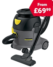 Save £10 Vacuum Cleaners & Pressure Washers
