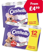 As Low As £4.99 Cushelle Comfort Toilet Roll