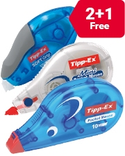 From £1.99 Tipp-Ex Correction Tape