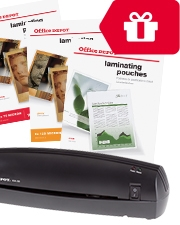 Free Laminator Office Depot Laminating Pouches