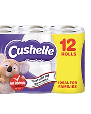 As Low As £4.99 Cushelle Comfort Toilet Paper