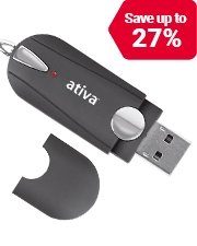 From only £3.99 on Ativa USB Sticks