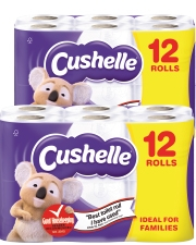 As low as £5.99 Cushelle Comfort Toilet Roll