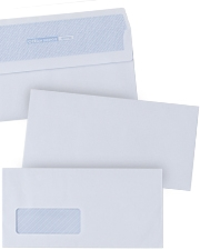Now from £9.49 White self-seal Business Envelopes