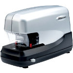 Rexel Electric Stapler 70 50 Sheets Black Silver 1 Pack