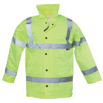 Alexandra Hi Vis Hi Viz High Visibility all weather anorak size M