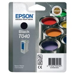 Epson T040 Original Black Ink Cartridge C13T04014010