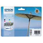 Epson T044  T045 Original Black 3 Colours Ink Cartridges C13T04454010