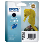 Epson T0481 black printer ink cartridge T048140
