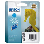 Epson T0482 Original Cyan Ink Cartridge C13T04824010