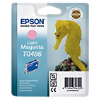 Epson T0486 Original Ink Cartridge C13T04864010 Light Magenta