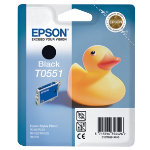 Epson T0551 Black Printer Ink Cartridge T055140