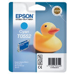 Epson T0552 Original Cyan Ink Cartridge C13T05524010
