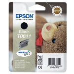 Epson T0611 black printer ink cartridge