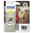 Epson T0614 Original Yellow Ink Cartridge C13T06144010