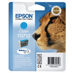 Epson T0712 Original Cyan Ink Cartridge C13T07124011