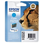 Epson T0712 cyan printer ink cartridge
