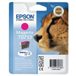 Epson T0713 magenta printer ink cartridge