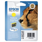 Epson T0714 Yellow Printer Ink Cartridge