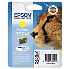 Epson T0714 Original Yellow Ink Cartridge C13T07144011
