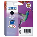Epson T0801 black printer ink cartridge