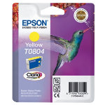 Epson T0804 yellow printer ink cartridge T080440