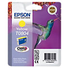 Epson T0804 Original Ink Cartridge C13T08044011 Yellow
