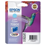 Epson T0805 Original Light Cyan Ink Cartridge C13T08054011