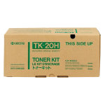 Kyocera TK 20H Black Laser Toner Cartridge