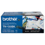 Brother TN130BK Black Laser Toner Cartridge