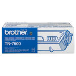 Brother TN 7600 black toner cartridge
