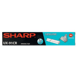 Sharp UX91CR Black Thermal Transfer Ribbon