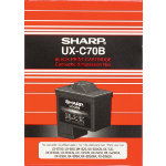 Sharp UXC70B Original Black Ink Cartridge SHA21097