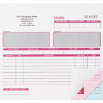 Ease Apart Personalised Invoice Set 3 Part 203 x 178 mm 250 Sets Per Pack