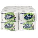Velvet Toilet Tissue 3 ply Pack 24