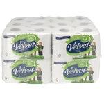 Velvet Toilet Tissue 24 Rolls Per Pack