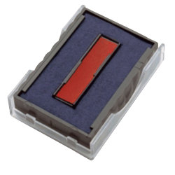 Replacement Twin 2 Colour Ink Pads For Printy DIY Dater Red and Blue