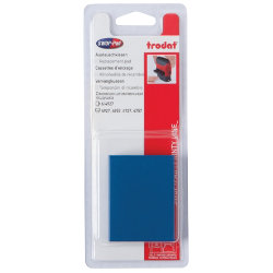 Replacement Twin Ink Pad For Trodat Printy DIY Stamps Up To 8 Lines Blue