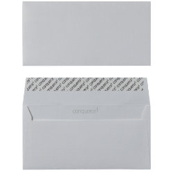 Conqueror Laid Peel And Seal Envelopes 120gsm High White DL 110 x 220 mm 500 Per Box