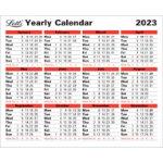 Letts 2017 Year Calendar