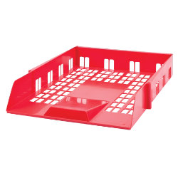 Viking Letter Trays Red 50 x 260 x 360 mm